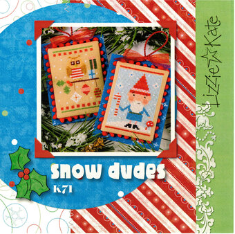 Snow Dudes - Cross Stitch Kit