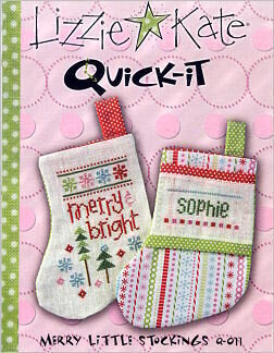Merry Little Stockings - Cross Stitch Pattern