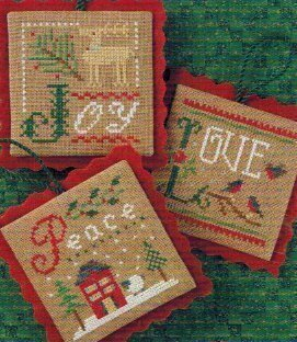 2011 Ornament Flora McSample  - Cross Stitch Pattern