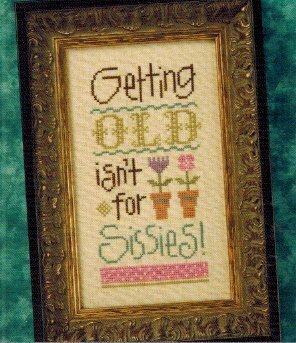 Getting Old! - Cross Stitch Pattern