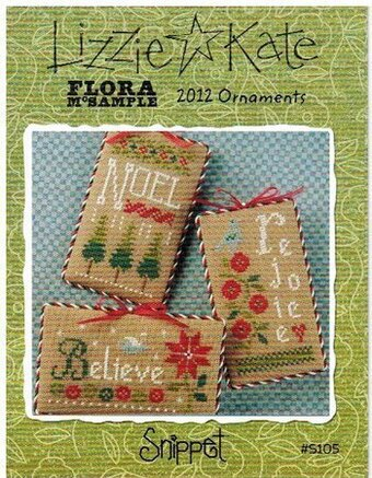 2012 Ornaments Flora McSample's  - Cross Stitch Pattern
