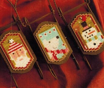 Sled Dudes - Cross Stitch Pattern