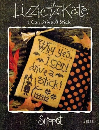 I Can Drive A Stick - Cross Stitch Pattern