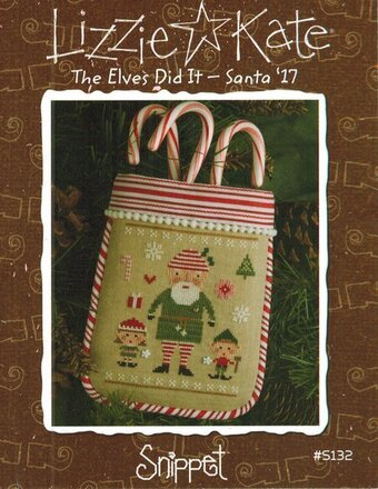Elves Did It, The - Santa '17 - Cross Stitch Pattern