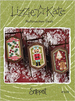 Nutcracker Sleds - Cross Stitch Pattern