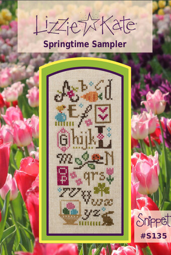 Springtime Sampler - Cross Stitch Pattern