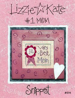 Number One Mom - Cross Stitch Pattern