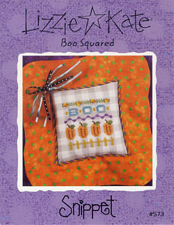 Boo Squared - Cross Stitch Pattern
