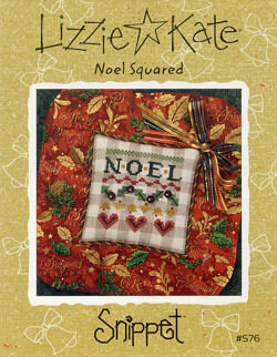 Noel Squared - Cross Stitch Pattern