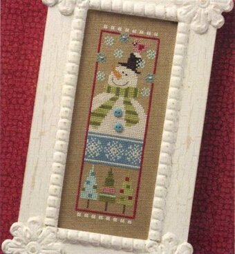 Snowman '10 - Cross Stitch Pattern