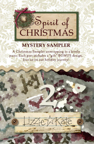 Spirit of Christmas Mystery Sampler Part 2