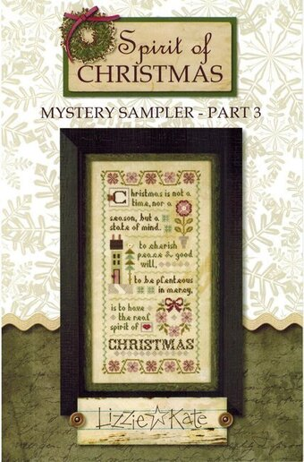Lizzie Kate Spirit of Christmas Mystery Sampler Part 3