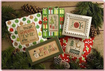 Tiny Tidings XVII - Cross Stitch Pattern