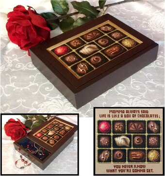 Chocolate Sampler - Cross Stitch Pattern