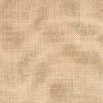 40 Count Vintage Buttercream Linen Fabric 18x27