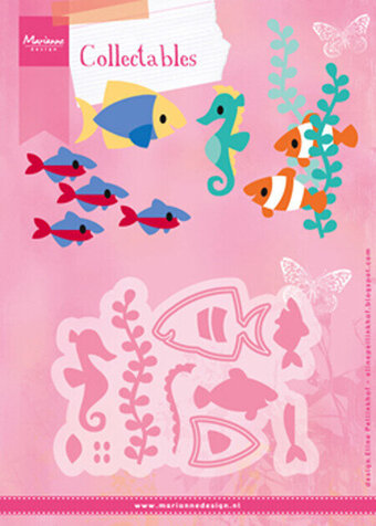 Eline's Tropical Fish - Marianne Designs Collectables Dies
