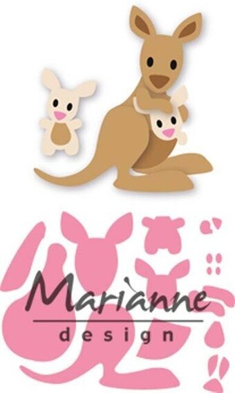 Eline's Kangaroo - Marianne Design Collectables Die