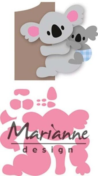 Eline's Koala - Marianne Design Collectables Die