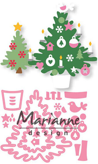 Eline's Christmas Tree - Marianne Design Craft Die