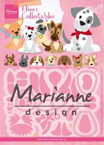 Eline's Puppy - Marianne Design Craft Die