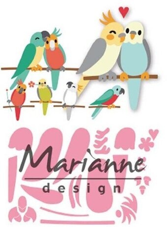 Eline's Birds - Marianne Design Craft Die