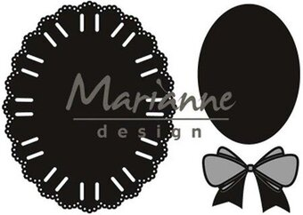 Oval Ribbon - Marianne Designs Creatables Die