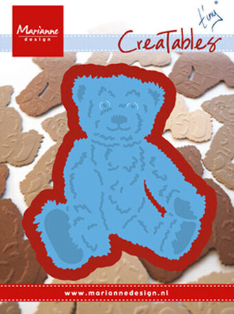 Marianne Design Creatables Dies - Tiny's Teddy Bear