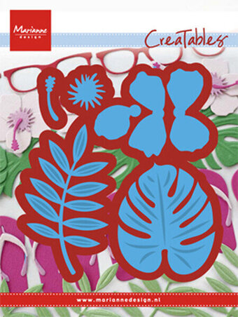 Marianne Design Creatables Die - Hibiscus Tropical Leaves