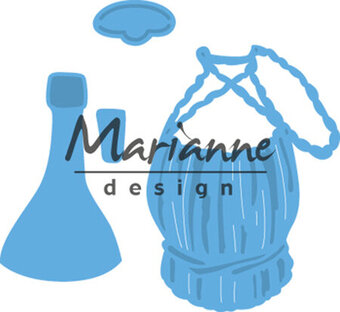 Marianne Design Creatables Die - Tiny's Italian Wine Bottle