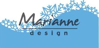 Ice Crystals Border - Marianne Design Creatables Die