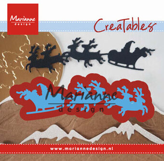 Marianne Design Christmas Die - Santa is Coming
