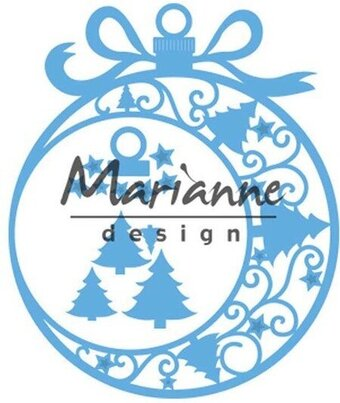 Christmas Ornament - Marianne Design Craft Die