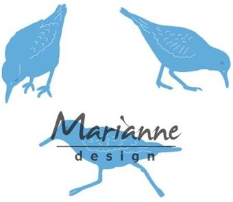 Tiny's Sand Pipers - Marianne Design Creatables  Die