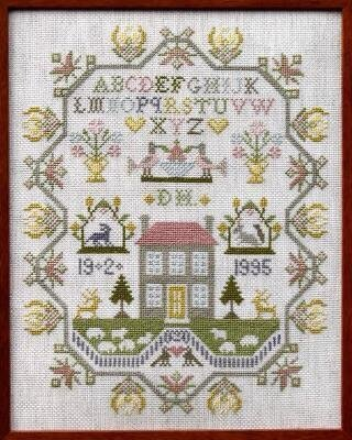 Country House Sampler - Cross Stitch Pattern