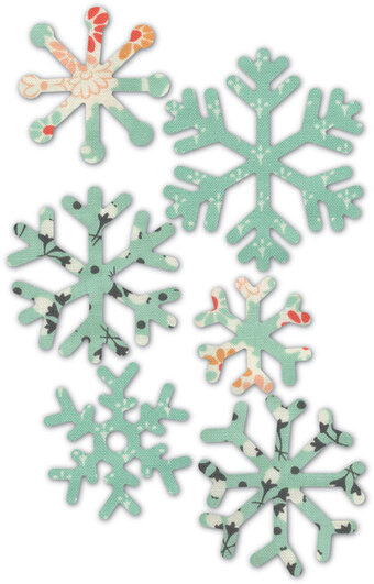 Memory Box Wintry Snowflakes Die