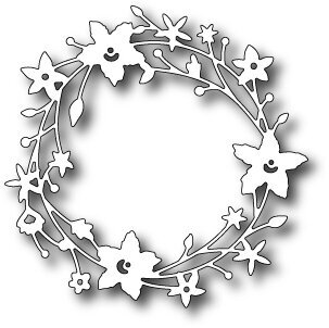 Memory Box Catalina Wreath Die