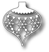 Memory Box Snowflake Ornament Die