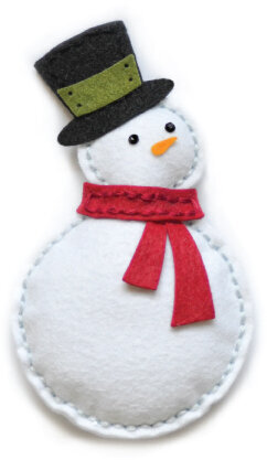 Memory Box Plush Bundled Snowman Die