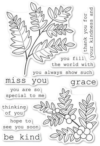 Graceful Fern - Clear Stamp
