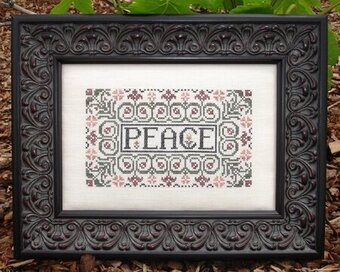 Peace - Cross Stitch Pattern