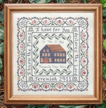 His Plan - Cross Stitch Pattern