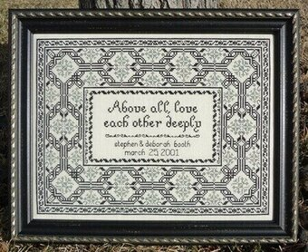 The Anniversary - Cross Stitch Pattern