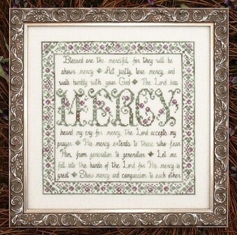 Building Blocks - Mercy - Cross Stitch Pattern