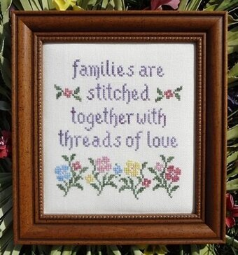 Threads of Love - Cross Stitch Pattern