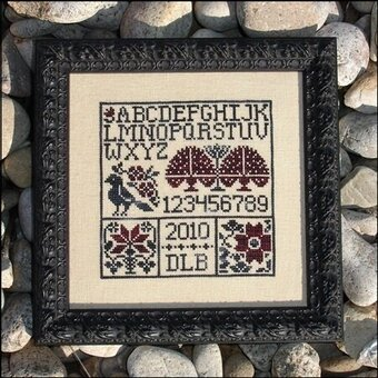 Blackbird's Garden - Cross Stitch Pattern