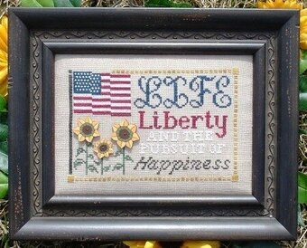 Pursuit of Happiness, The - Cross Stitch Pattern
