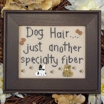 Dog Hair - Cross Stitch Pattern