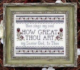 How Great Thou Art - Cross Stitch Pattern