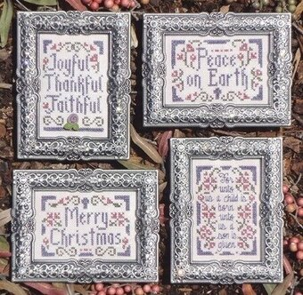 Christmas Pinkies IV - Cross Stitch Pattern