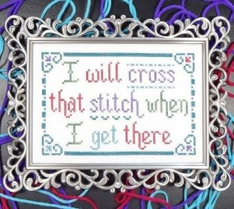 Cross That Stitch - Cross Stitch Pattern